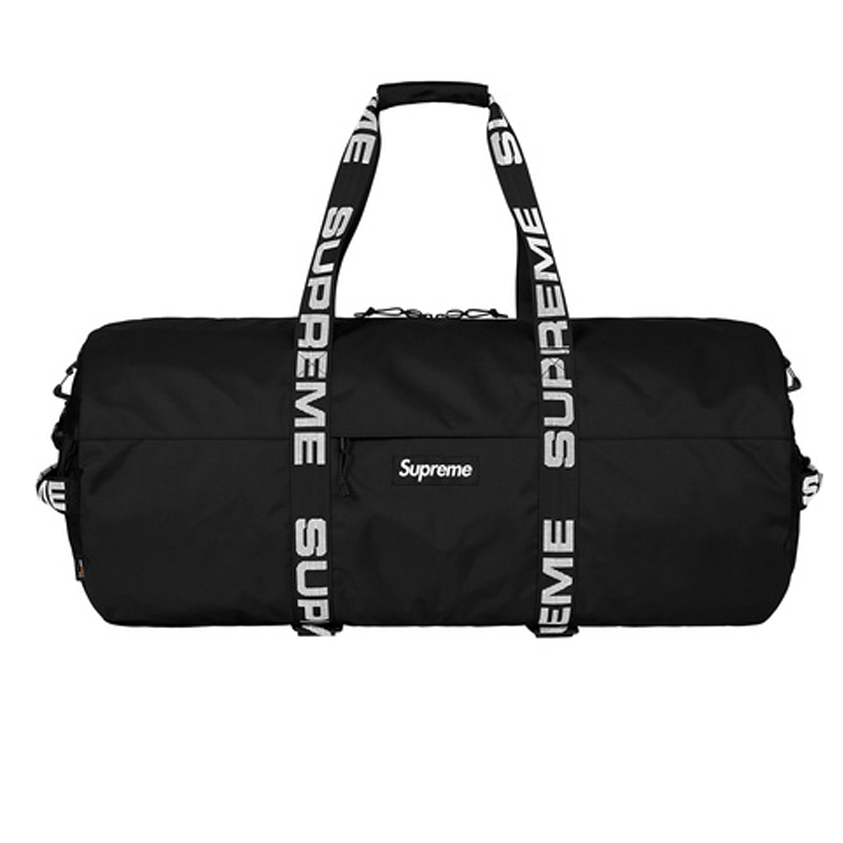 Supreme Duffle Bag FW18 -Black